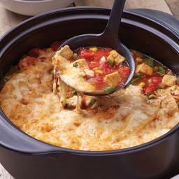 Hearty Chicken Quesadilla Soup