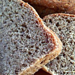 Hearty Oatmeal-Flax Bread