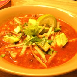Heidi's Chicken Tortilla Soup