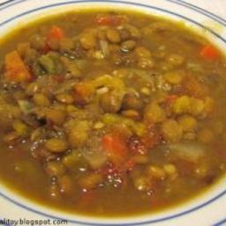 Helen's Lentil Soup