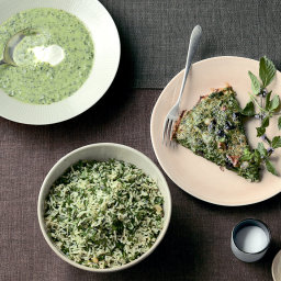 Herb-and-Olive Frittata