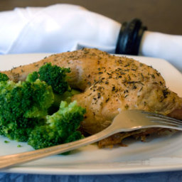 Herb Roasted Chicken Leg Quarters Recipe