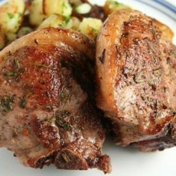 Herb Roasted Lamb Chops