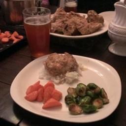 Herb and Beer Braised Rabbit