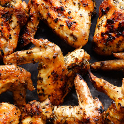 Herbed Grilled Chicken Wings