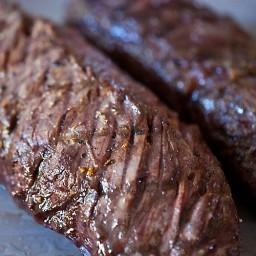 Herbed Hanger Steak