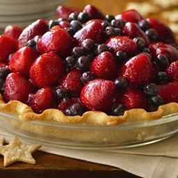 Here's to the Red, White and Blue Pie