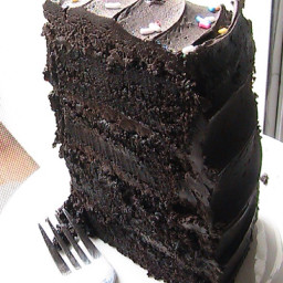 Hershey's dark chocolate cake