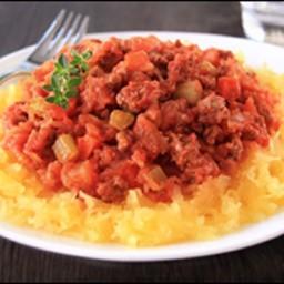 HG's Spaghetti Squash Bolognese