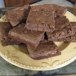 High Protein Espresso Chocolate Chip Brownies