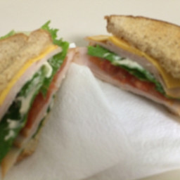 HLTC Sandwich (Ham, Lettuce, Tomato and Cheese)