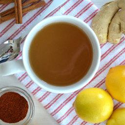 Home Made Ginger Tea