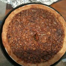 home made pecan pie