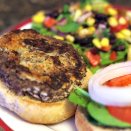 Homemade Black Bean Burger Recipe
