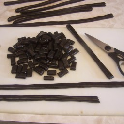 Homemade Black Licorice Nibs