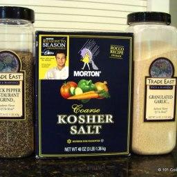Homemade Everyday Seasoning Salt – 7:2:1 Mix (and 7:2:2)