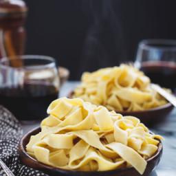 Homemade Gluten-Free Chickpea Pasta {a collaboration}