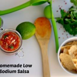 Homemade Low Sodium Salsa