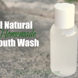 Homemade Mouth Wash Recipe