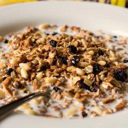 Homemade Multigrain Cereal