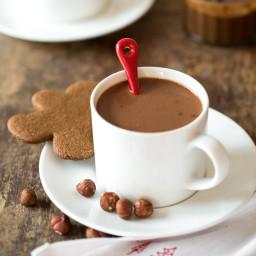 Homemade Nutella Hot Chocolate