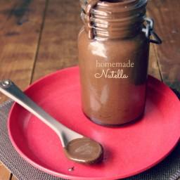 Homemade Nutella Recipe Card