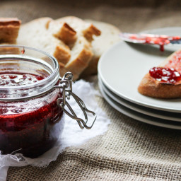 Homemade Strawberry and Vanilla Bean Jam