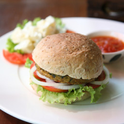 Homemade Vegan Burgers That Don't Suck
