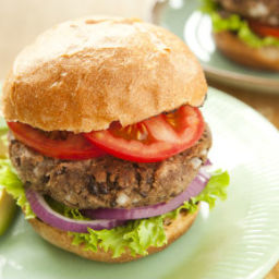 Homemade Black Bean Burgers
