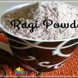 Homemade Ragi Powder Recipe