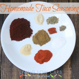 Homemade Taco Seasoning (Low Carb and Paleo)