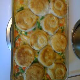 Homestyle Chicken Biscuits