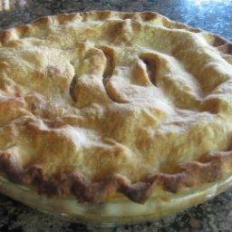 Honey-Apple Pie
