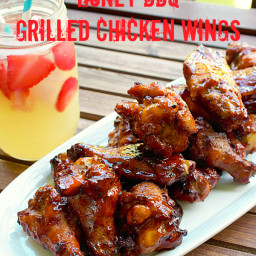 Honey BBQ Chicken Wing Sauce