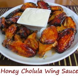 Honey Cholula Wing Sauce