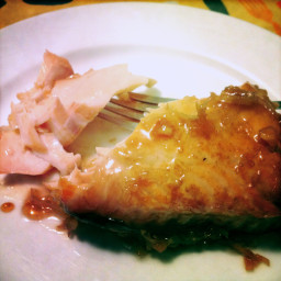 Honey Coconut Salmon