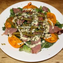Honey Dijon Smoked Ham and Asparagus Salad
