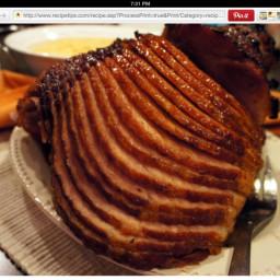 Honey Glazed Spiral Ham