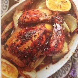 Honey, Lemon and Lavender Chicken