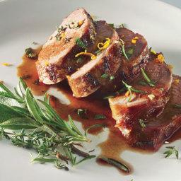 Honey-Marinated Pork with Gremolata