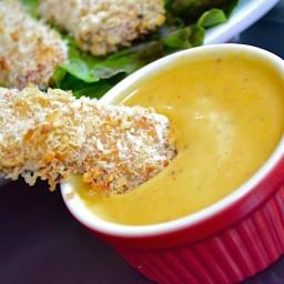 honey mustard chicken strips