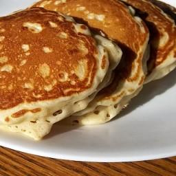 Honey Oatmeal Pancakes