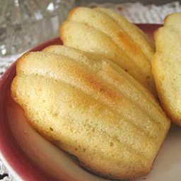 Honey-Orange Madeleines