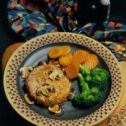Honey-Sesame Pork Chops