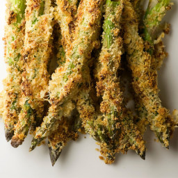 Honey Breadcrumb Asparagus Recipe