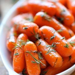 Honey Dill Carrots