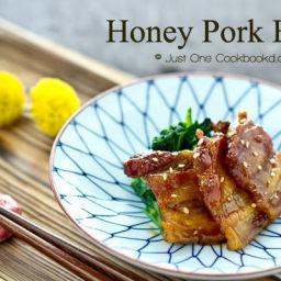 Honey Pork Belly Recipe