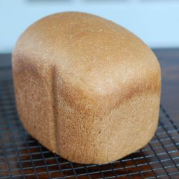 Honey Whole-Wheat Sandwich Bread (for bread machine)
