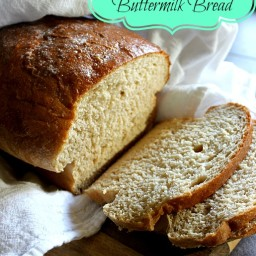 Honey Whole Wheat Buttermilk Sandwich Bread