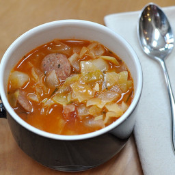 Hot and Hearty Sausage Soup